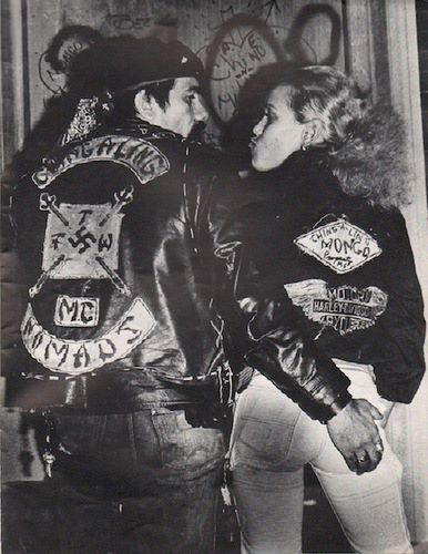 """The Puerto Rican """"Ching-A-Ling Nomads"""" starting out as a street gang in the early 60's they eventually evolved into a motorcycle club. Kicked out of the Village in the early 1970's they made the Bronx their home."""