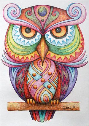 The Vigilant by Jose-Garel-Alvoeiro - owl