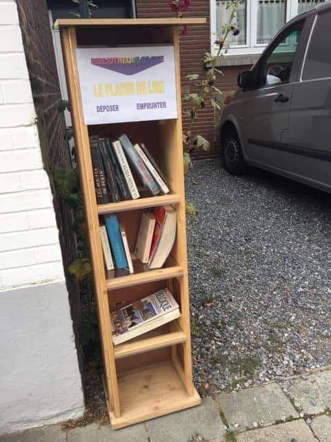 Boîte à livres Charleroi Mont-Sur-Marchienne