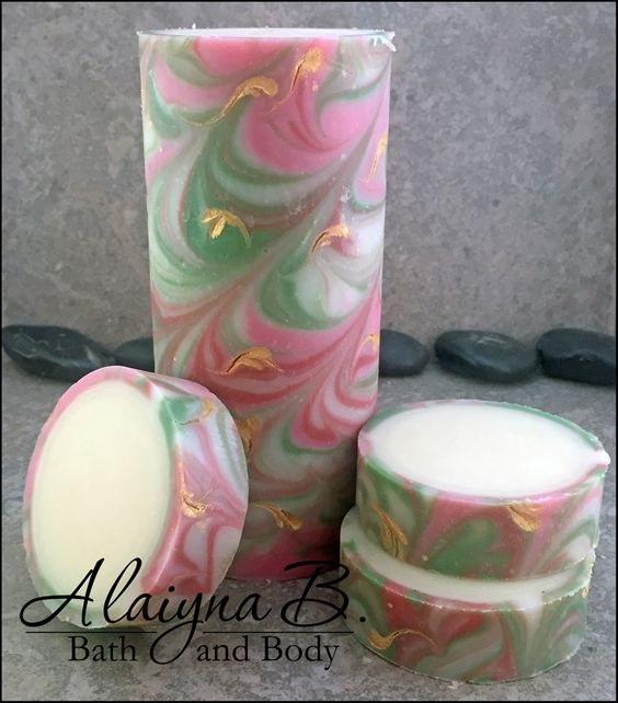 Alaiyna B. Bath and Body: Rimmed Soap Tutorial