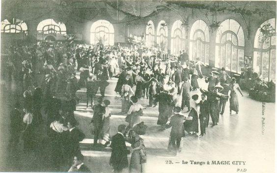 Le tango à Magic City.