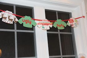 sunny little things: ugly sweater party