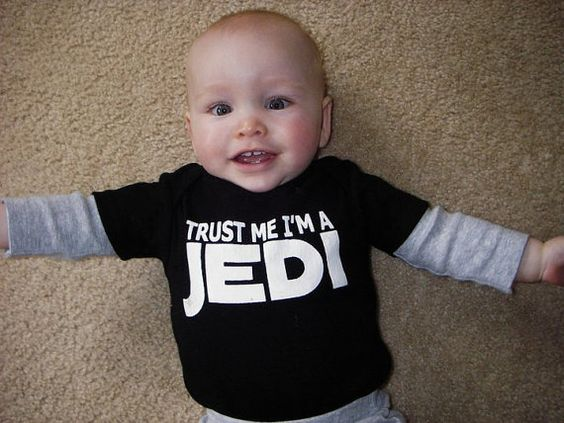 Another young fan has been exposed!  'Fear only leads to the dark side of the force.'