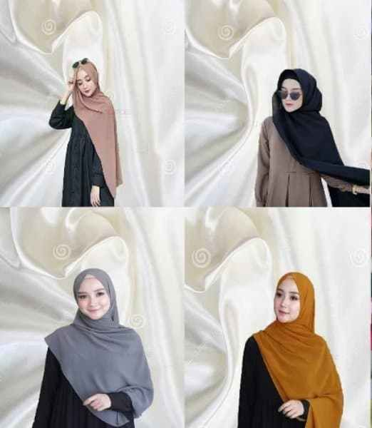 Tutorial Hijab Pashmina Nissa Sabyan Muslim Kain Kerudung