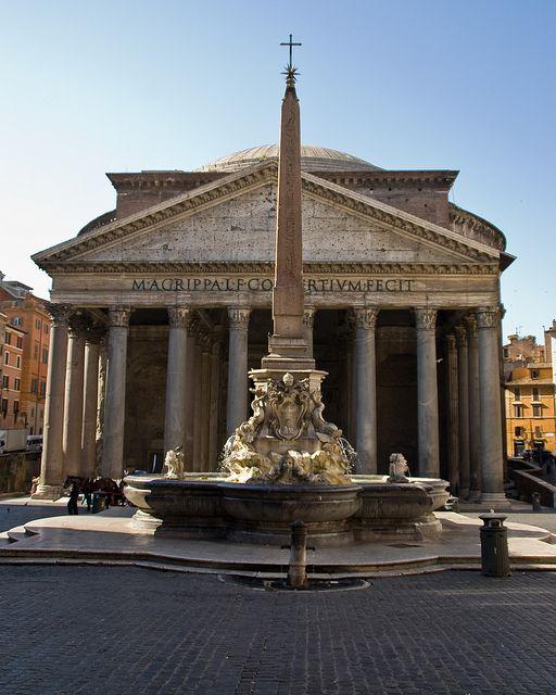 El Panteón. Roma
