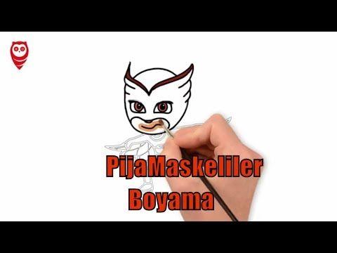 Pj Masks Toys Pijamaskeliler Baykus Kiz Boyama Ve Cizim Sayfasi