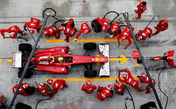 F1 Formula One Racing, Reifenwechsel