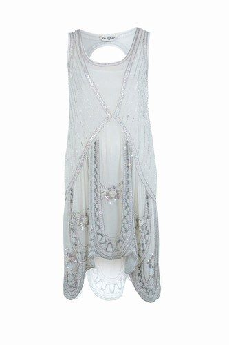 "This flapper dress is the perfect 1920s fashion recipe. Does anyone else want to go see ""The Great Gatsby"" in full garb?"