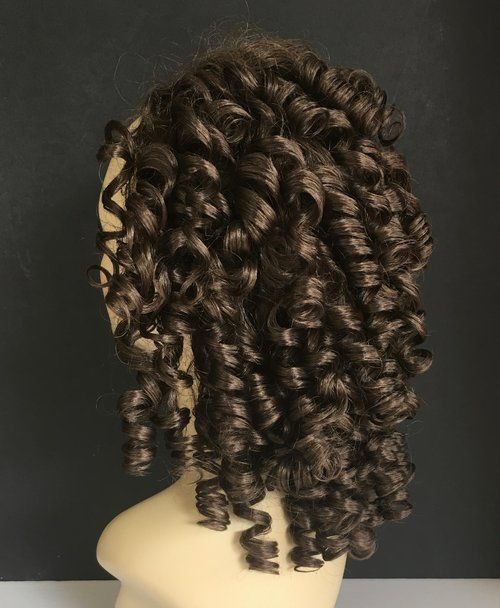 Ringlet Curls Half Wig, Irish Dance Fall