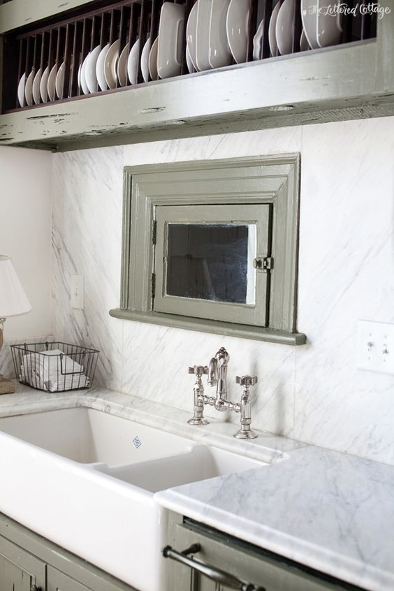 Farm Sink Plate Racks And Southern Style On Pinterest