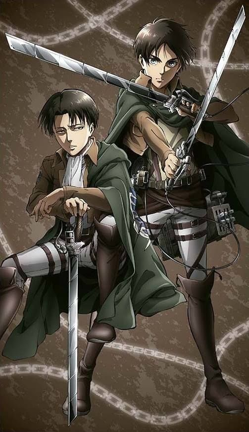 Hajime Isayama Attack On Titan Levi Ackerman X Eren Yeager My Blog Attack On Titan Anime Attack On Titan Eren Attack On Titan Tattoo