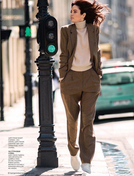Hanaa Ben Abdesslem in a Normcore Urban Rhapsody for the Cover of GRAZIA Russia, Fashion Issue by Benjamin Kanarek - See more at: http://www.benjaminkanarekblog.com/vwpq
