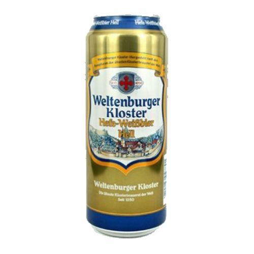 Bia Weltenburger Kloster Hefe-Weissbier Hell
