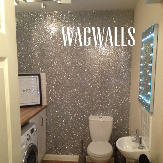 Lowes Glitter Wall Paint J Decal
