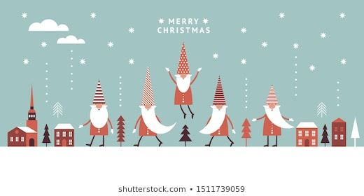 Gnomes Images Stock Photos Vectors Shutterstock Christmas Cards Seasons Greetings Christmas Gnome