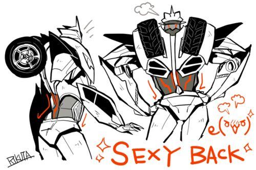 50 Nuances de Knockout 097ab143ab7a68f73c70530077c6abd7--transformers-prime-sexy-back