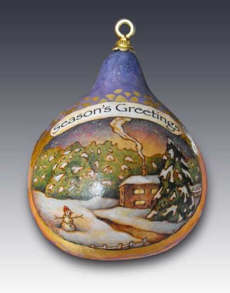 Gourds Ornaments And Painted Gourds On Pinterest