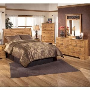 Nebraska furniture mart ashley 4 piece king bedroom set - Ashley wilkes bedroom collection ...