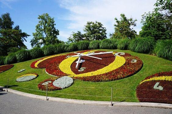 Horloge Fleurie - Genebra - Suiça - Viagem com Sabor