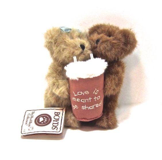 BOYDS BEARS  Milkshake Love Love is Meant to be by ADOPTIONSLtd
