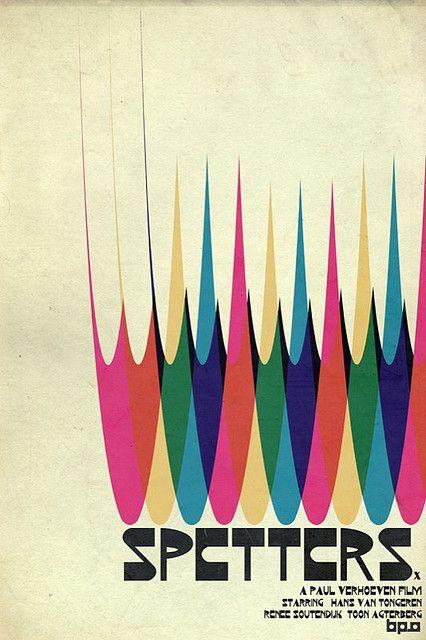 Spetters Poster by pete barn paulsz - Paul Verhoeven film