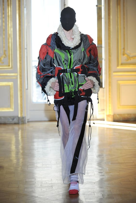 MAISON MARTIN MARGIELA'S ARTISANAL COLLECTION A/W 2011-12.... sick