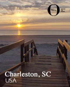 Isle of Palms Beach, Charleston, South Carolina - There's nothing like a sun lounger and a couple of dips in the sea to clear our heads.