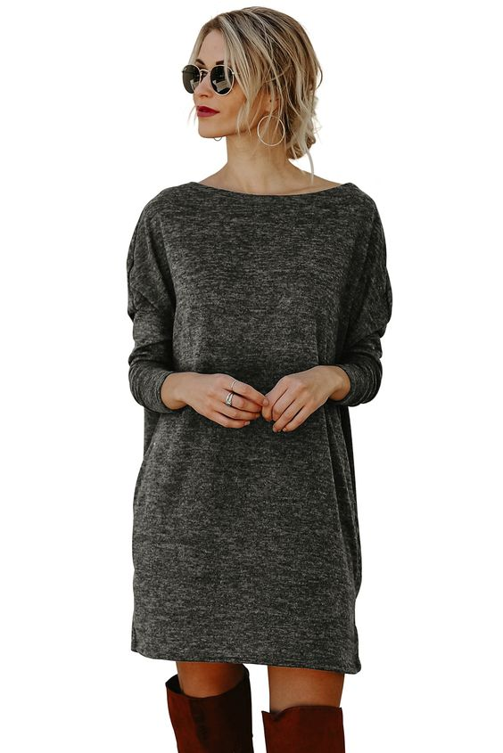 42 Sweater Dresses That Make You Look Fabulous outfit fashion casualoutfit fashiontrends