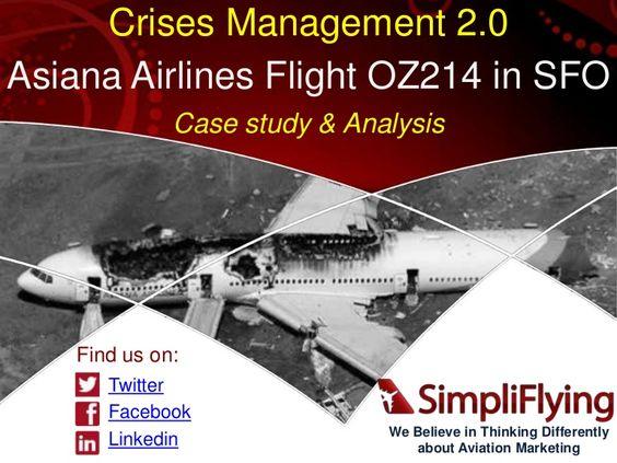 Crisis management cases study