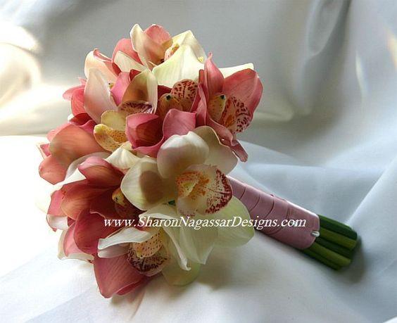 Cymbidium Orchid Bridal Bouquet