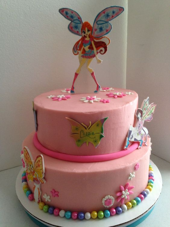 Cake Design Winx : Winx Club fairy cake Cakes I ve made! :) Pinterest ...