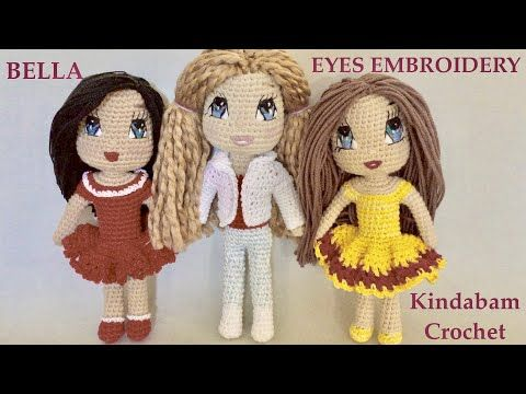 Super Design Ideas for Crochet Amigurumi Dolls – 1001 Crochet | 360x480