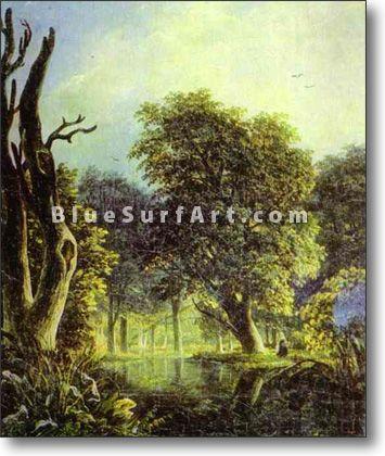 In a Park - £124.99 : Canvas Art, Oil Painting Reproduction, Art Commission, Pop Art, Canvas Painting