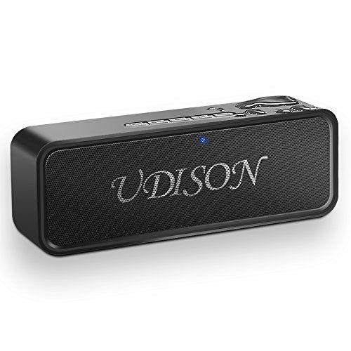 bluetooth Speakers Portable Wireless Speaker AUX /& TF W// Mic Waterproof Stereo