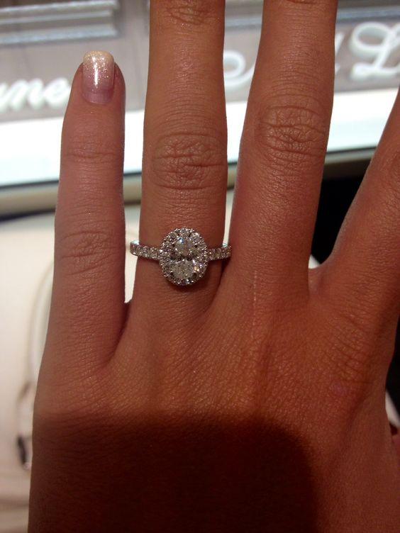 Neil Lane Oval Engagement Ring Dream Wedding Pinterest