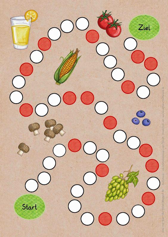 Spiel Gesunde Ernährung  SU  Pinterest  TES
