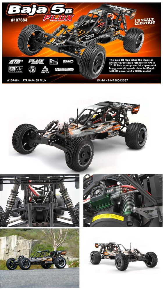 HPI Baja 5b Flux - 1/5th Scale Electric Buggy