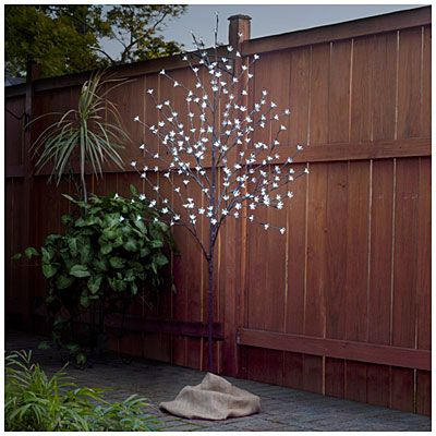 Wilson Fisher 55 LED Lighted Cherry Blossom Trees at Big Lots
