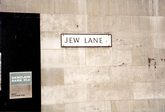 Jew Lane, off Commercial Street