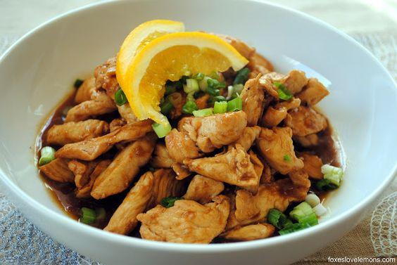 Spicy Orange-Ginger Chicken (Trader Joes @ Home!)