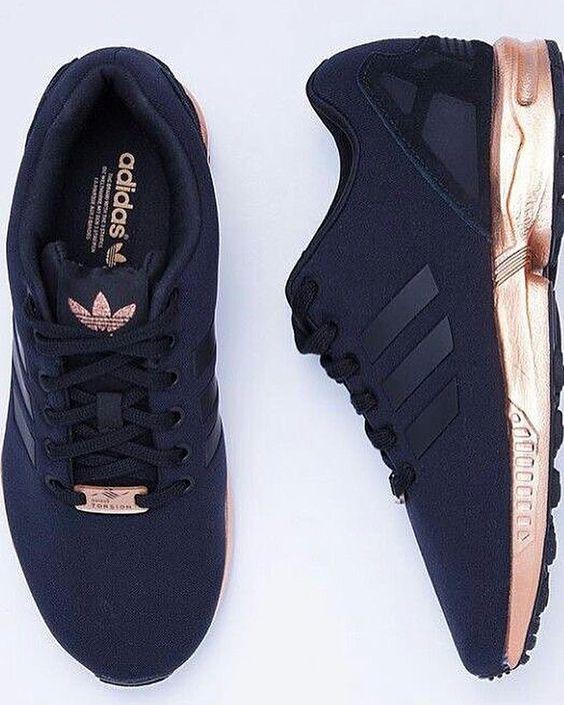adidas zx femme noir et or