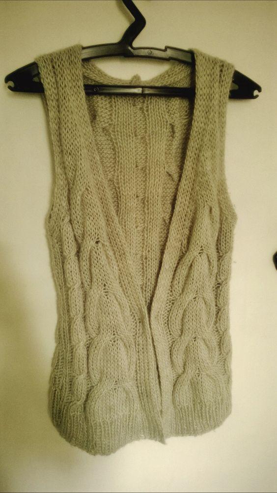 Colete em tricô (tricot vest)