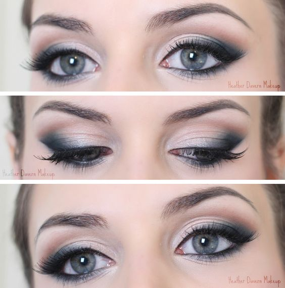 Maquillage en pointe maquillage pinterest smoky eye yeux et laura mercier - Maquillage smoky eyes ...