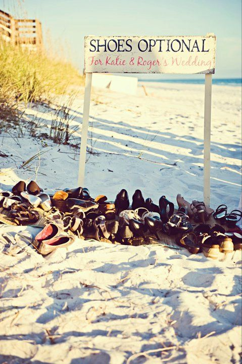 Shoes Optional... Perfect for a beach wedding!!