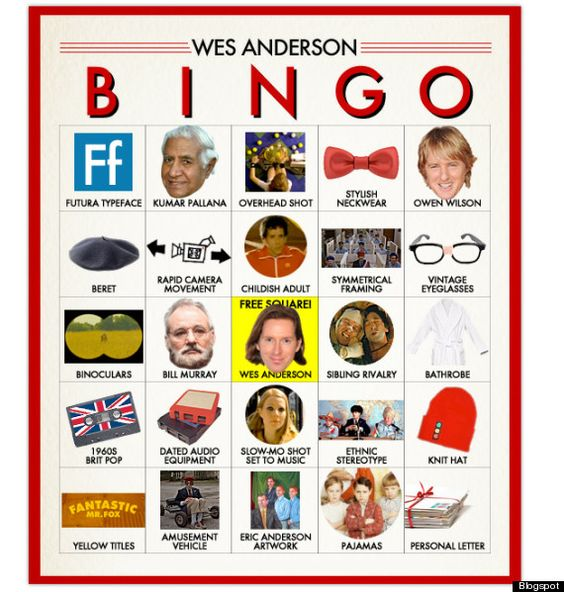 wes anderson bingo (via slate.com)