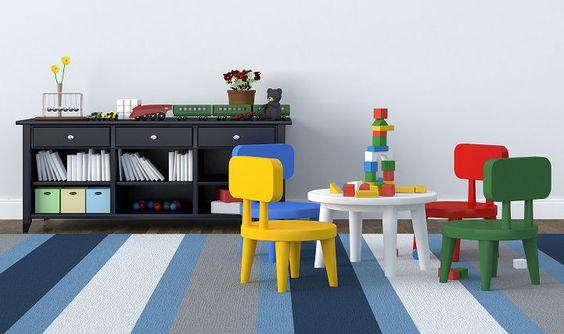 Ein Kinderzimmer gestalten, das Kindern und Eltern gefällt
