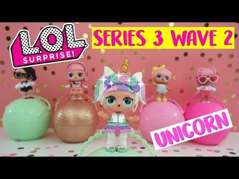 New Unicorn Lol Surprise Confetti Pop Series 3 Wave 2 Custom Diy
