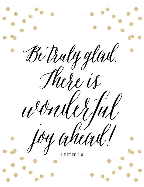 1 peter 1 6 print scripture bible verse be truly