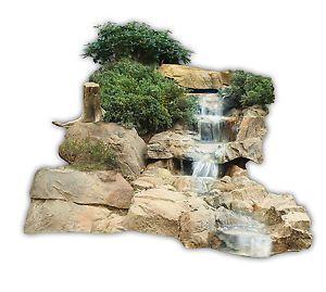 ATG Bachlauf Wasserfall Gartenteich Bachlaufschalen Set I mit Filterfunktion !   eBay