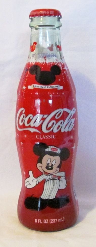 Coca-Cola Celebrate MICKEY 75 InspEARations COKE Bottle Disney Mouse Limited Ed #CocaCola